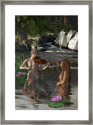 Naecken - The Nix Framed Print by Andy Renard