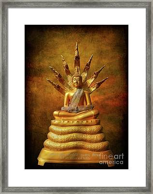 Framed Print featuring the photograph Naga Buddha by Adrian Evans