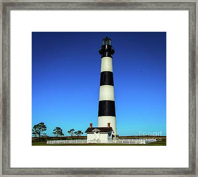 Nags Head Lighthouse Framed Print