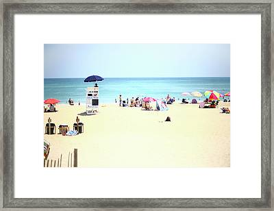 Framed Print featuring the photograph Nags Head by Lucian Capellaro
