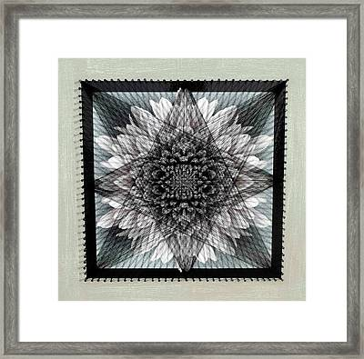 Nailed It Series No 18 Framed Print by Sumit Mehndiratta