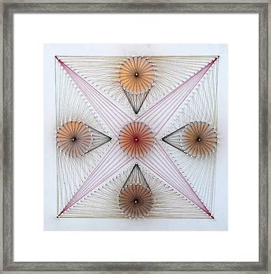Nailed It Series No 26 Framed Print by Sumit Mehndiratta