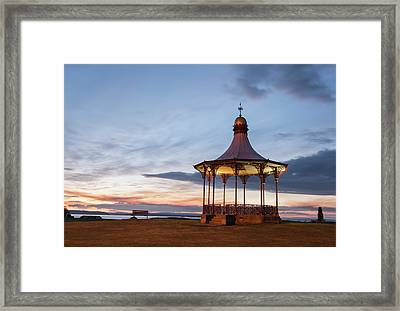 Nairn Bandstand At Dawn Framed Print
