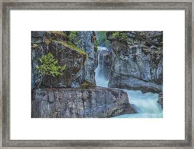 Framed Print featuring the photograph Nairn Falls by Jacqui Boonstra