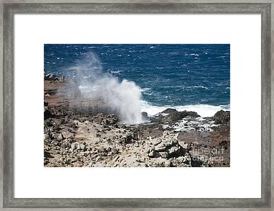 Nakalele Point Framed Print