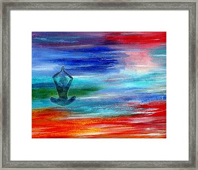 Namaste Framed Print by The Art With A Heart By Charlotte Phillips