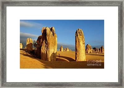 Nambung Desert Australia 11 Framed Print by Bob Christopher