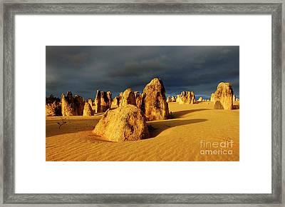 Nambung Desert Australia 12 Framed Print by Bob Christopher