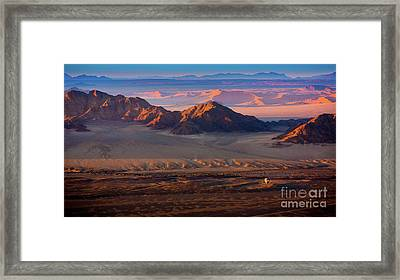 Namibia Balloon Framed Print