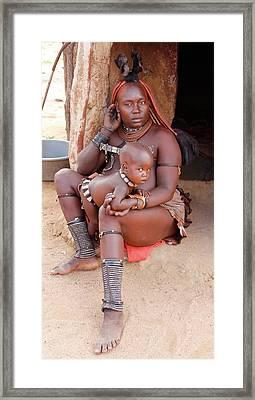 Namibia Tribe 9  Framed Print