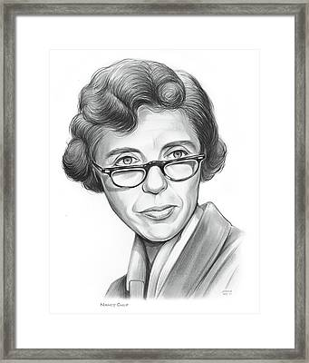 Nancy Culp Framed Print