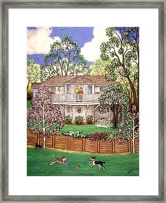 Nancy's House Framed Print by Linda Mears