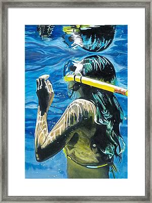 Nani Framed Print by Robert Lewis