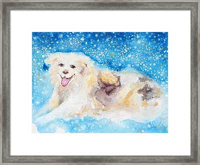 Nanny Bliss Framed Print by Ashleigh Dyan Bayer