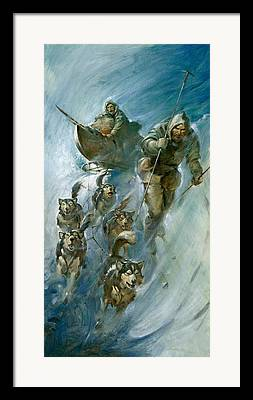 Nansen Paintings Framed Prints