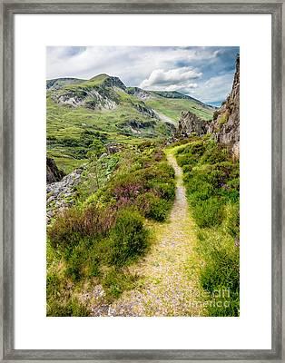 Nant Ffrancon Footpath Framed Print
