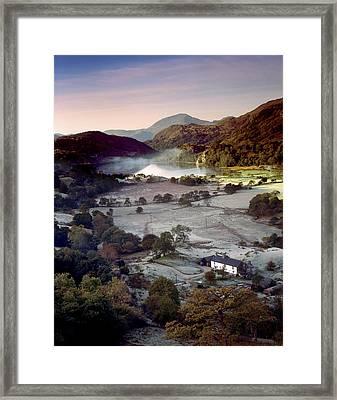 Nant Gwynant Framed Print