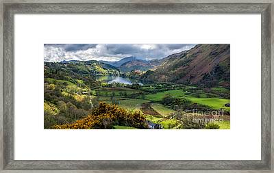 Nant Gwynant Valley Framed Print