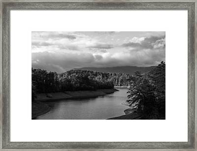 Nantahala River Blue Ridge Mountains Framed Print
