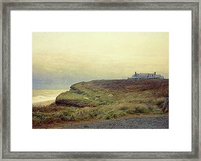 Nantucket Bluff Framed Print by JAMART Photography