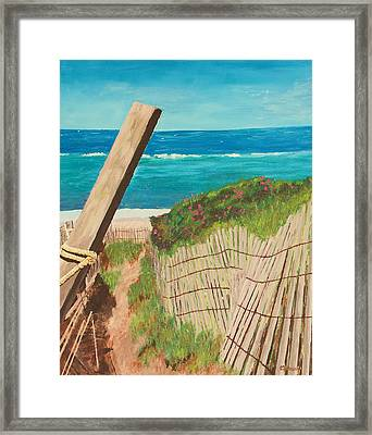 Nantucket Dream Framed Print