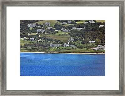 Nantucket Harbor House 5 Framed Print by Duncan Pearson