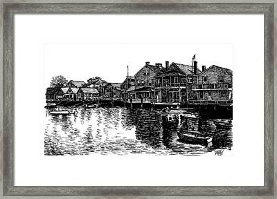 Nantucket Harbor Number Two Framed Print