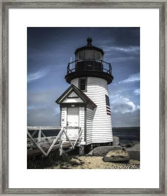 Nantucket Lighthouse Framed Print