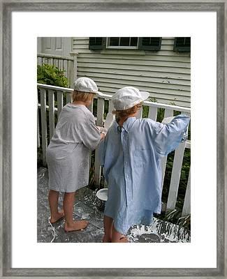 Nantucket Painters Framed Print