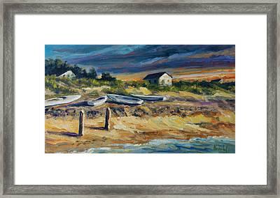 Nantucket Framed Print by Rick Nederlof
