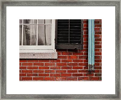 Nantucket Texture Framed Print by JAMART Photography