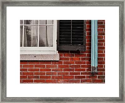 Nantucket Texture Framed Print by JAMART Photography