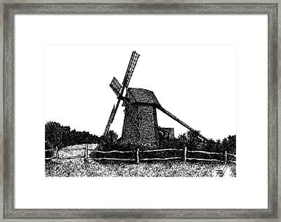 Nantucket Windmill Number Two Framed Print