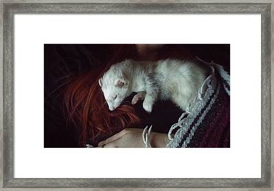 Nap Time Framed Print by Heather Gorman