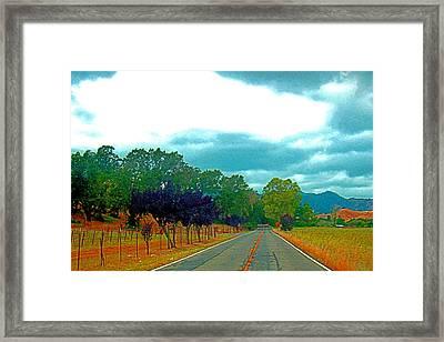 Napa Valley - California Framed Print