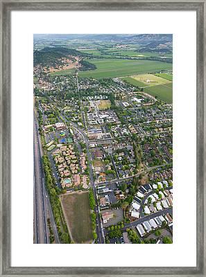 Napa Valley California Framed Print by Steve Gadomski