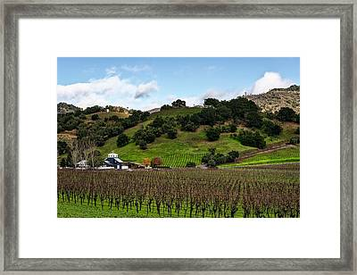 Napa Valley Framed Print by Mountain Dreams