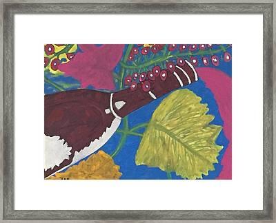 Napa Valley Tastings Framed Print
