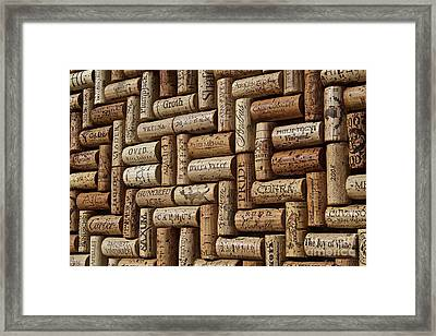 Napa Valley Wine Auction Framed Print by Anthony Jones