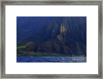 Napali Coast 2 Framed Print by Bob Christopher