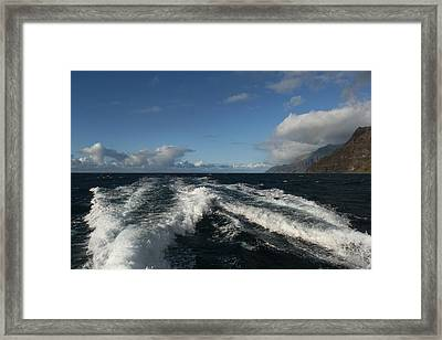 Napali Coast Framed Print by Andrei Fried
