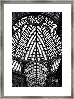 Naples Galleria Framed Print