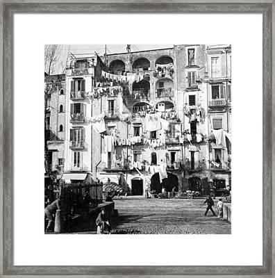Naples Italy - C 1901 Framed Print