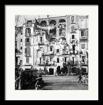 Napule Framed Prints