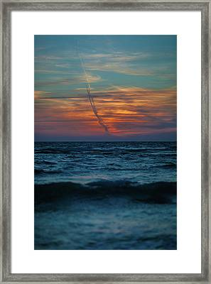 Naples Launch Framed Print