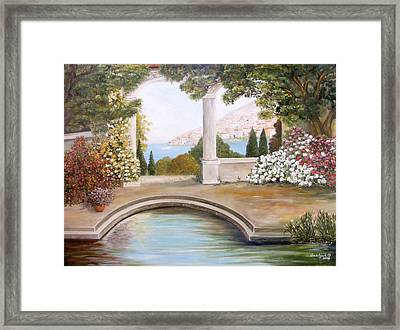 Naples Framed Print by  Oksana Gnatyuk