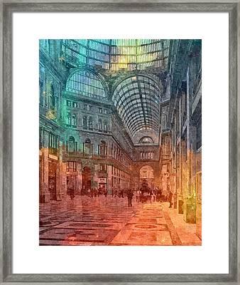 Naples , Italy Framed Print by Nikolay Ivanov