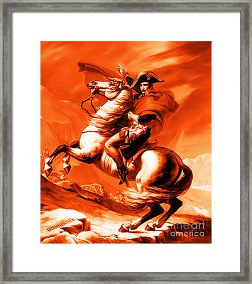 Napoleon Bonaparte Framed Print by Gull G