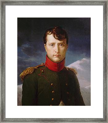 Napoleon Bonaparte Premier Consul Framed Print by War Is Hell Store