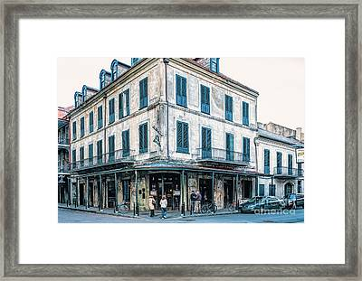 Napoleon House - Nola Framed Print by Kathleen K Parker